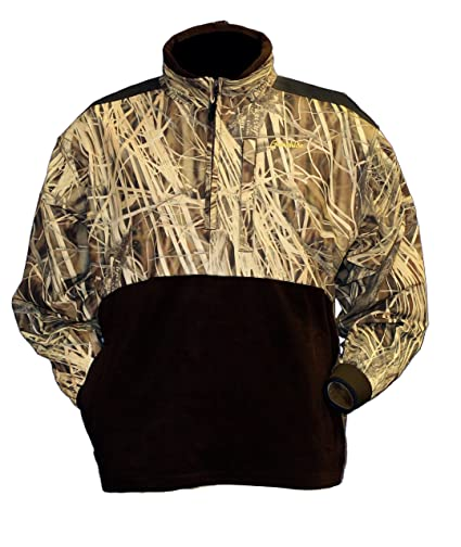 0c4a5578dbb7f Image Unavailable. Image not available for. Color: Gamehide Marsh Lord  Waterfowl Pullover (Flyway Camo ...