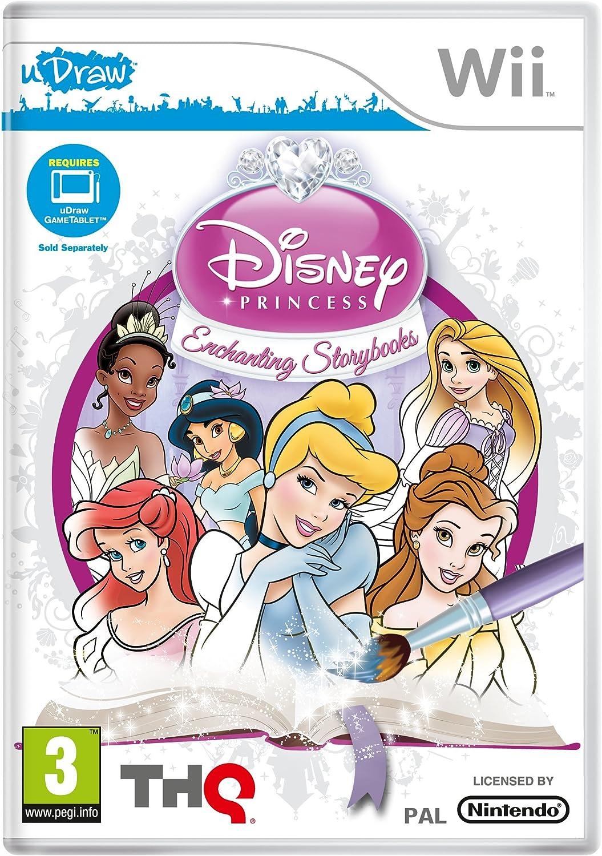 Disney Princess Enchanting Storybooks - uDraw (Wii) [Importación inglesa]: Amazon.es: Videojuegos
