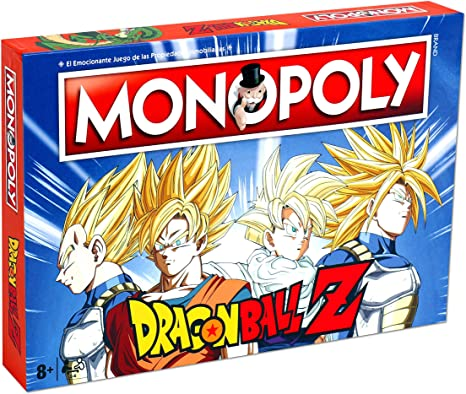 DRAGON BALL- Monopoly Z Drago Ball Juego, Multicolor (ELEVEN FORCE 63683): Amazon.es: Juguetes y juegos