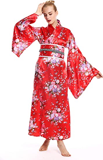 dressmeup - W-0289 Disfraz Mujer Feminino Halloween quimono Kimono ...