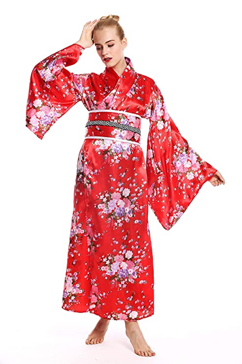 dressmeup - W-0289 Disfraz Mujer Feminino Halloween quimono ...