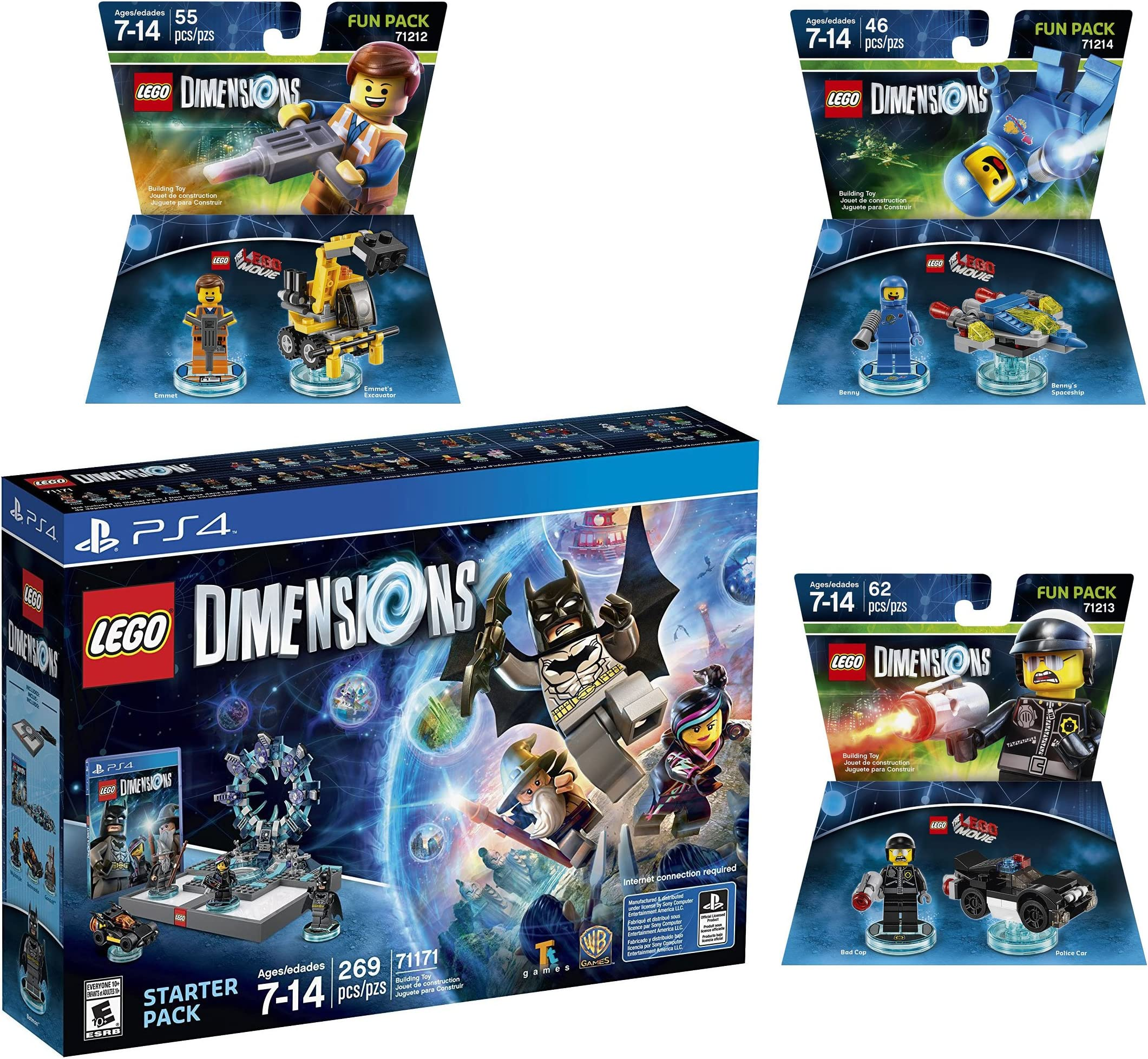 Amazon.com: Lego Dimensions The Lego Movie Starter Pack + ...