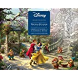 Disney Dreams Collection Thomas Kinkade Studios Disney Princess Coloring Poster Book