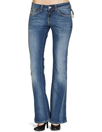 c65cbd52 Tommy Jeans Women's Sophie Kas Boot Cut Jeans, Kansas Stretch, W34 INXL30 IN