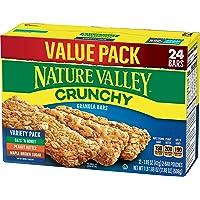 Nature Valley Granola Bars, Crunchy Variety Pack, 12 Ct (24 Bars)