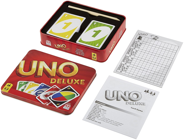 Mattel MTLK0888 UNO Deluxe Game