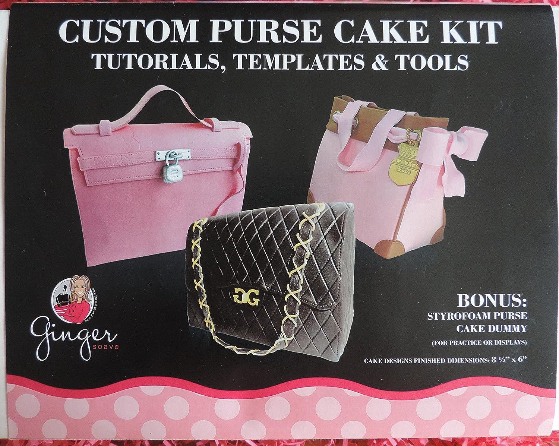 Amazon.com: Custom Purse Cake Kit: Kitchen & Dining