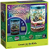 Creativity for Kids Grow n Glow Terrarium Science Craft Kit