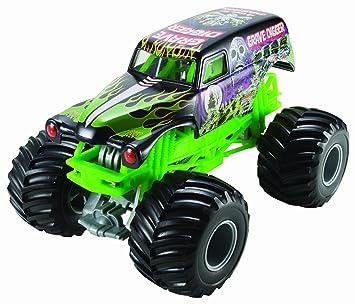 Mattel Ccb06 JugueteCamiónMetalMonster Año Hot JamGrave s Vehículo Wheels Metal Juguete De Vehículos Digger3 kTOPZXiu