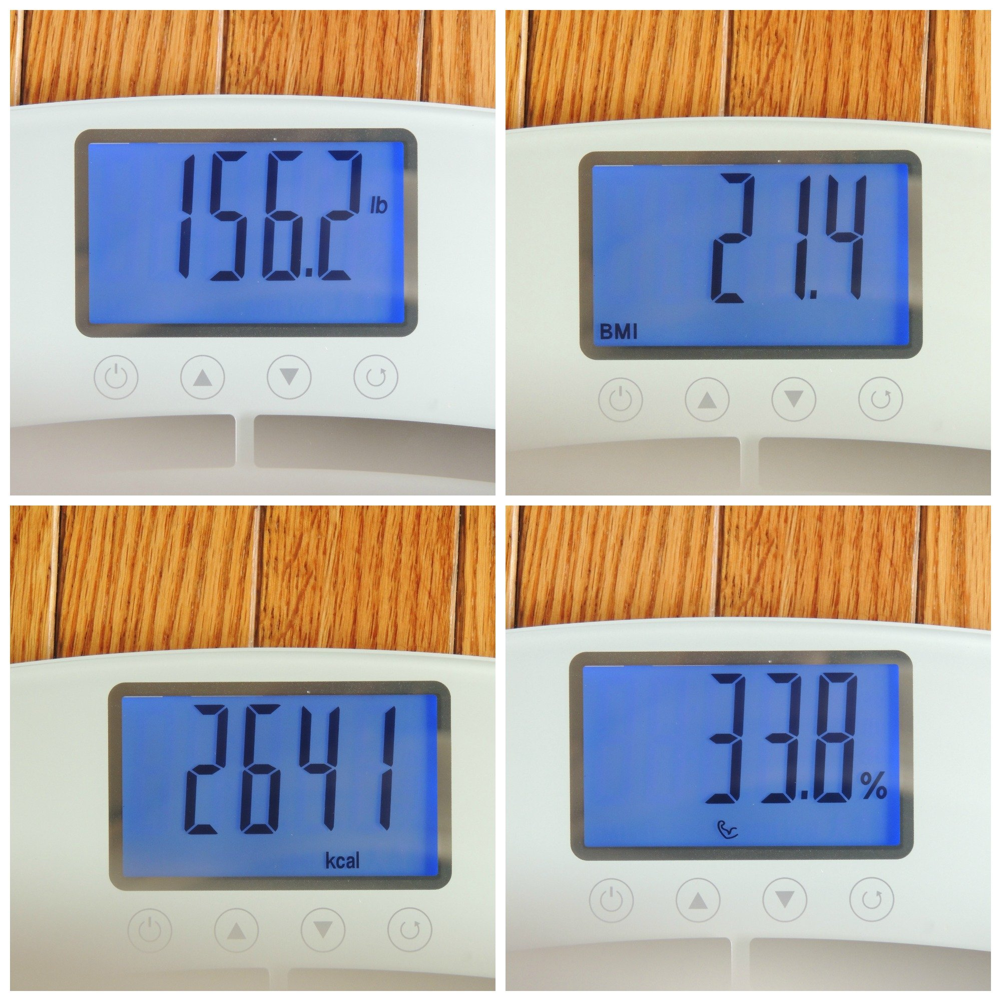 EatSmart Products Precision Body Fat Scale Bathroom Scale with 400 Pound Capacity, BMI and Step Off Technology