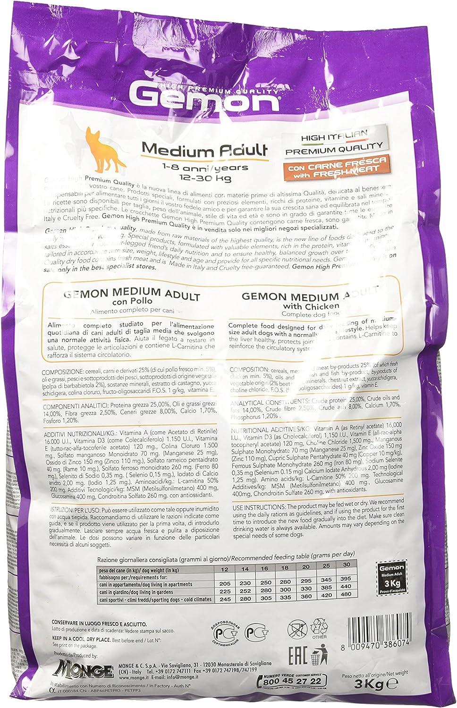 gemon Adult Pollo Medio kg.3