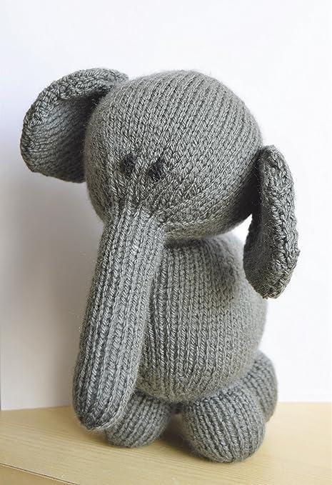 Knitting Pattern Elephant Soft Toy Amazon Kitchen Home