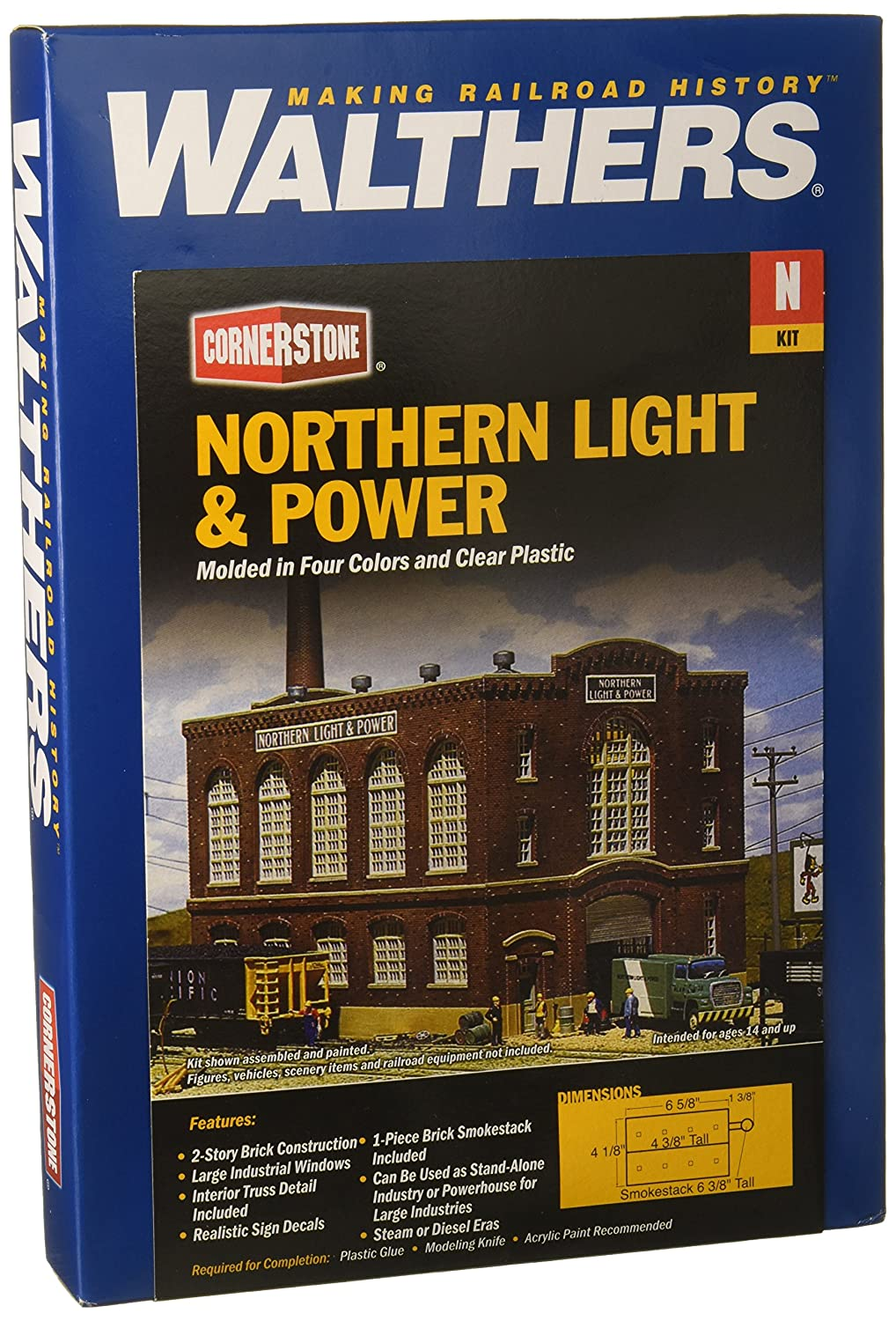 Walthers Trainline Northern Light /& Power Kit Train Collectable Train