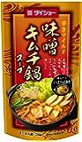 ダイショー 辛さマイルド 味噌 キムチ鍋 スープ 750g×10 [33371] 鍋スープ