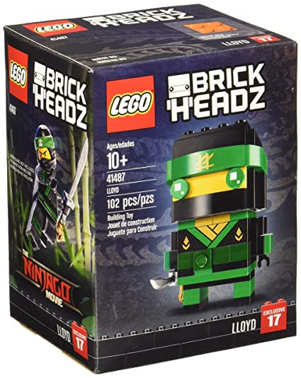 Amazon.com: LEGO brickheadz Lloyd 41487 Ninjago Building Set ...