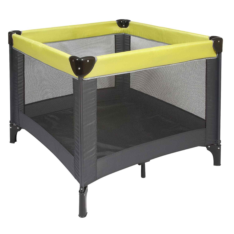 Nattou 12661 - Box 90 x 90 cm, colore: Grigio/Verde