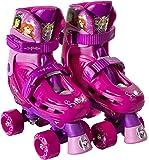 PlayWheels Disney Princess Kids Classic Quad Roller Skates - Junior Size 10-13