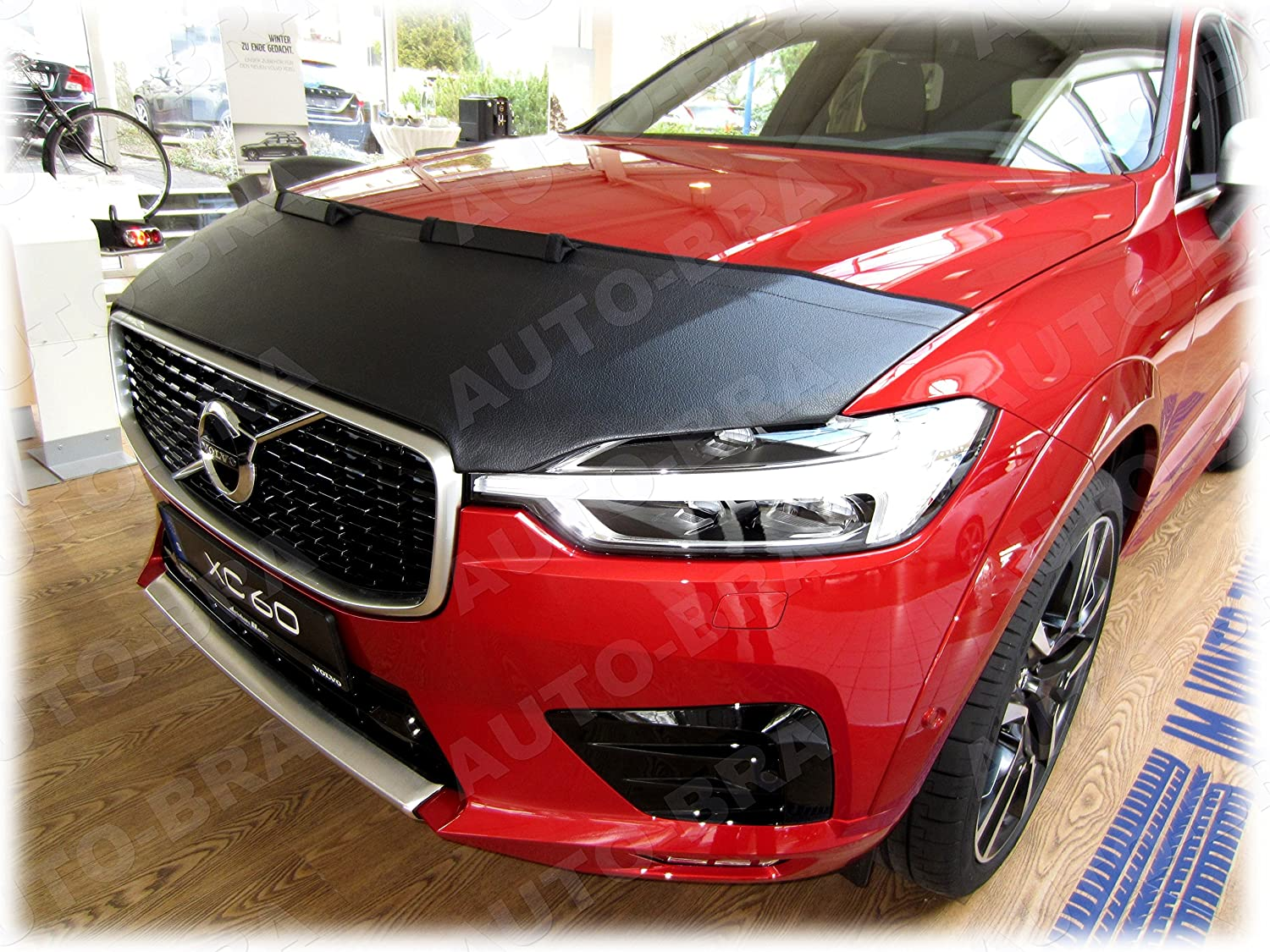 HOOD BRA Front End Nose Mask for XC40 since 2017 Bonnet Bra STONEGUARD PROTECTOR TUNING