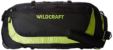 37a6675349 Image Unavailable. Image not available for. Colour  Wildcraft Nylon 23 Inch Green  Travel Duffle (Rover ...