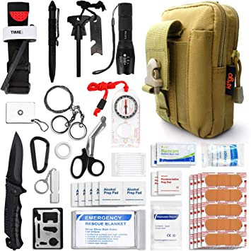 Survival Gear and Medical First Aid Kit