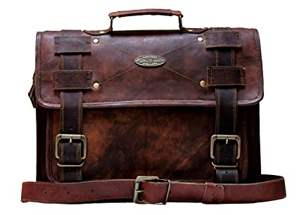c61b1091e8ec Image Unavailable. Image not available for. Color  Handmade world Leather  Messenger Bags ...
