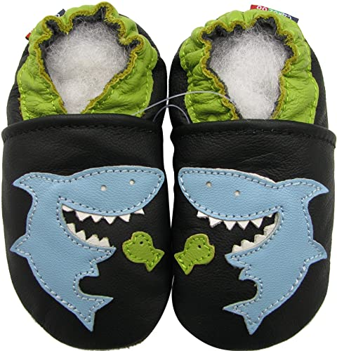 4ea3de36f0e6 Shark black 0-6M