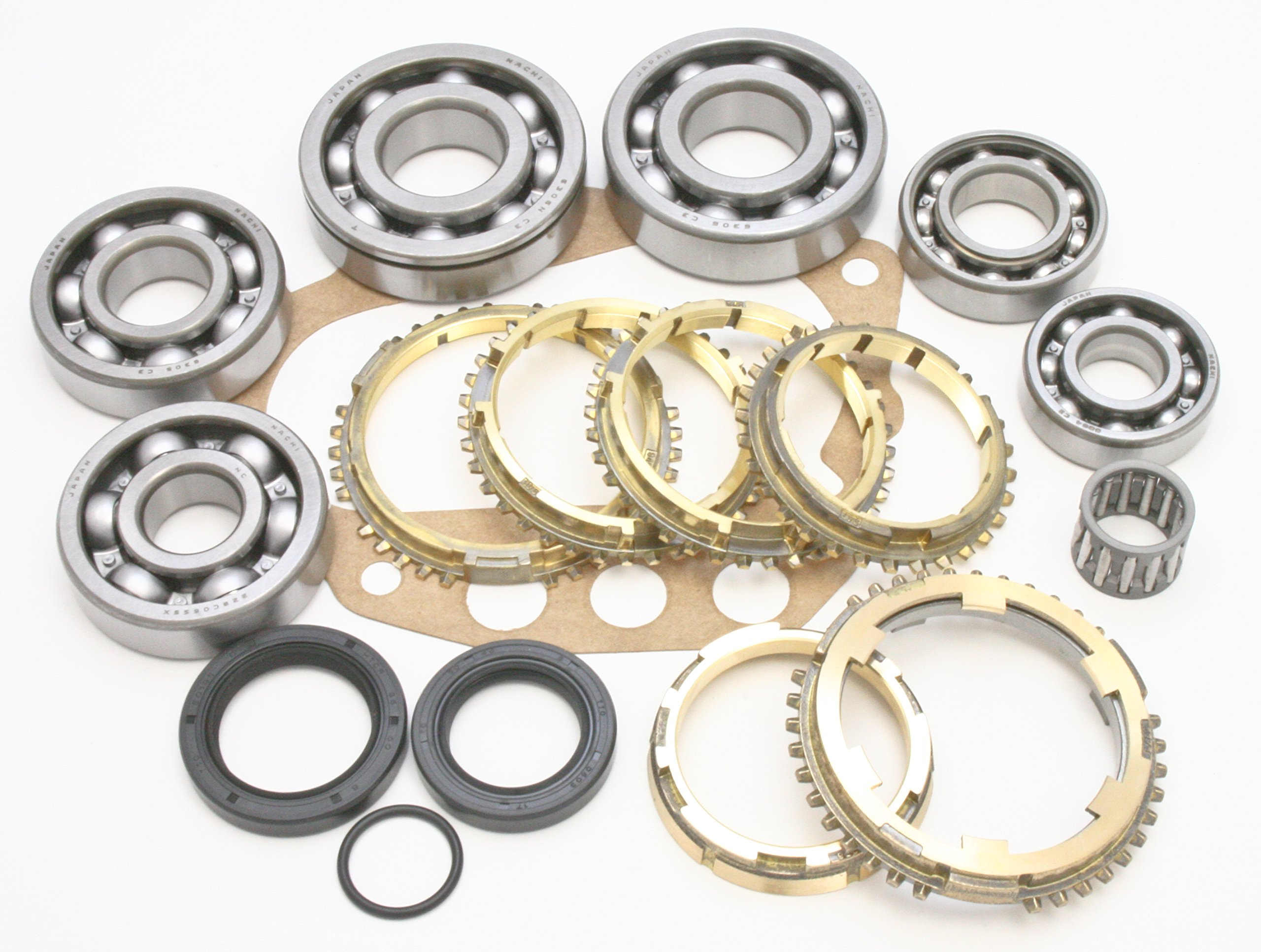 Transparts Warehouse BK133BWS Nissan 5 Speed Transmission Rebuild Kit with Rings