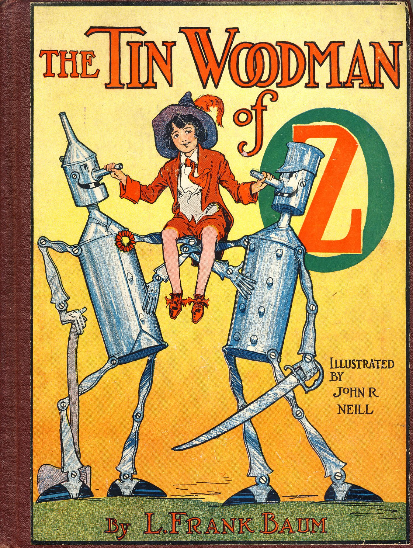 Read The Tin Woodman Of Oz Oz 12 By L Frank Baum