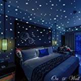 Amazon Price History for:On D Wall 332 Realistic Glow In The Dark Stars & Dots, 3D Wall Stickers For Kids Bedroom Gift Beautiful Glowing Wall Decals