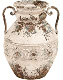 Deco 79 Metal Vase, 15 by 12-Inch