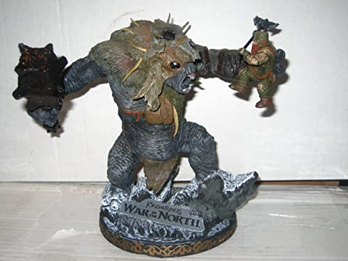 Lord of the Rings LOTR War in the North Snow Troll 7 Figurine