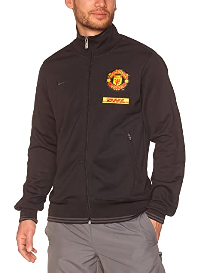 a7561d949b2 Amazon.com   NIKE Manchester United Black Authentic N98 Jacket   Sports    Outdoors