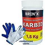 BRIN'X Karbid Varianten 0.5KG-12Kg Marken Premium Karbid der Firma BRIN'X unerreicht in QUALITÄT und WIRKUNGsDauer !