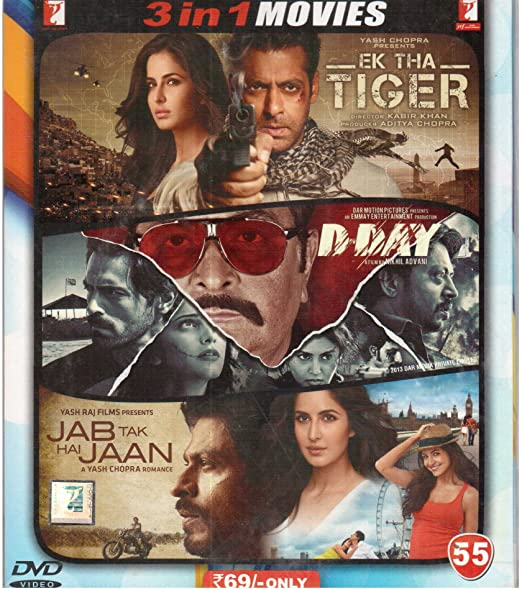 Amazon in: Buy Ek Tha Tiger/D Day/Jab Tak Hai Jaan DVD, Blu