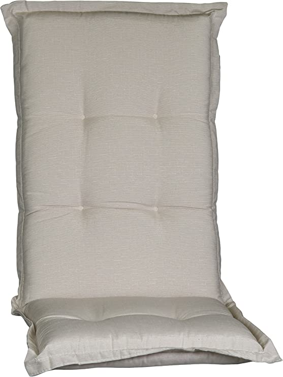 /per sedie /Impermeabile/ con schienale alto /cuscino per esterni/ /in 2/colori/ Con schienale alto/ sedie da giardino /116/x 45/cm/