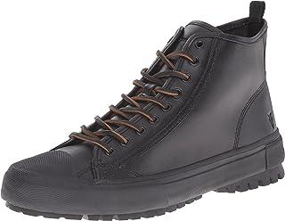 FRYE Men's Ryan Lug Midlace Fashion Sneaker Black 11.5 M US