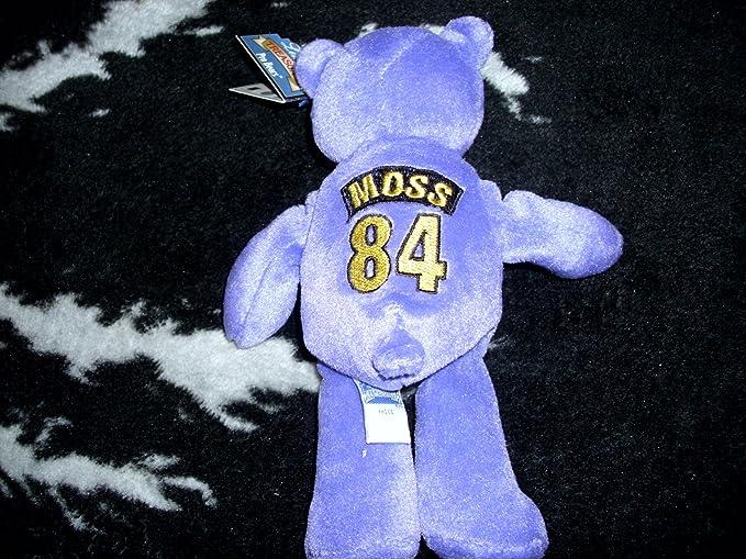 Amazon.com  Randy Moss MVP Limited Treasures NFL Bear  Toys   Games 14087d23497