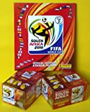 2 x Display + Leeralbum Panini WM 2010 Südafrika