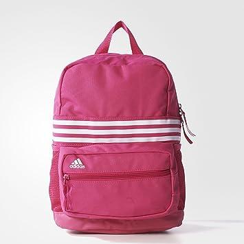 adidas Mädchen Rucksack Sport 3 Streifen XS, PinkWeiß, 15 x