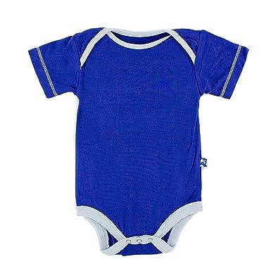 08185eaa4aa Amazon.com  Kickee Pants Baby Boys  Solid Short Sleeve One Piece  Prd-kpo113-ktp  Clothing