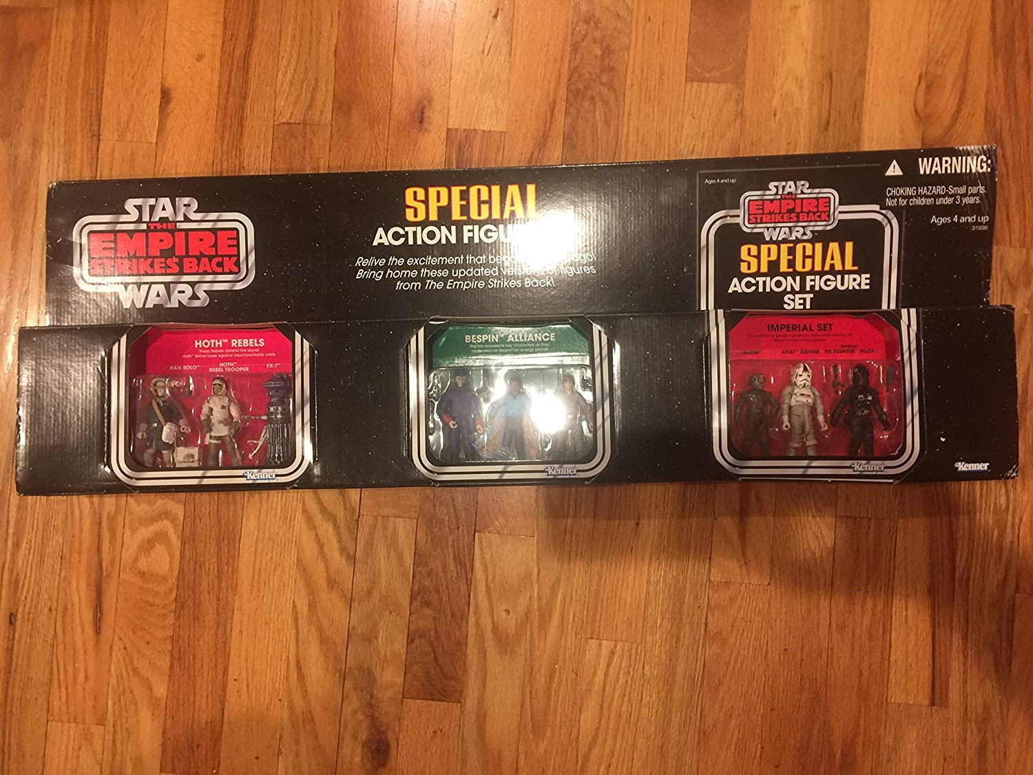 """Target Excl. Star Wars CAVE OF EVIL Special Action Figure Set 3.75/"""" BRAND NEW"""