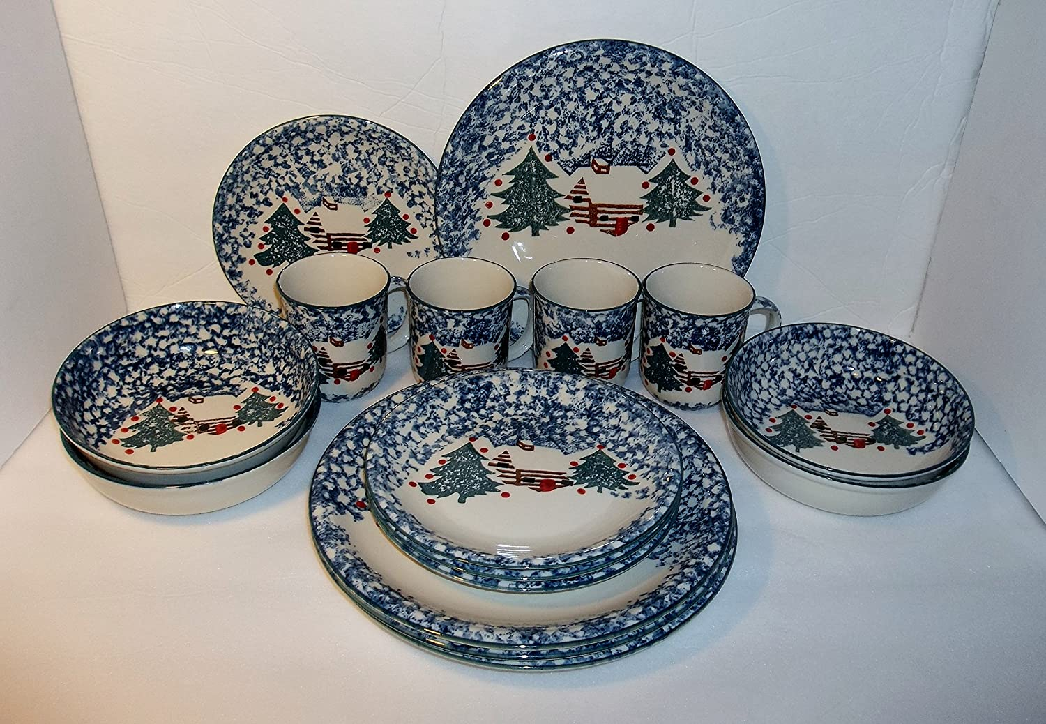 design cabin country corelle french and dishes home livingware pine dinnerware l cottage cone modern cabins set decor