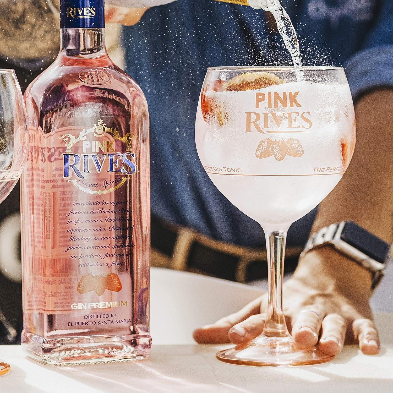 RIVES Pink ginebra botella 70 cl