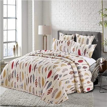Cotton Artean Couvre-lit Cama 2 metros 310 ancho x 260 largo multicolore