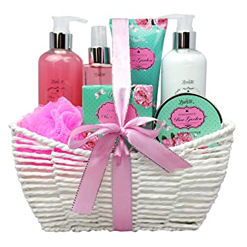Motheru0027s Day Gift Baskets for Women Bath Spa Kit Bath And Body Set -  sc 1 st  Amazon.com & Amazon.com : Motheru0027s Day Gift Baskets for Women Bath Spa Kit Bath ...