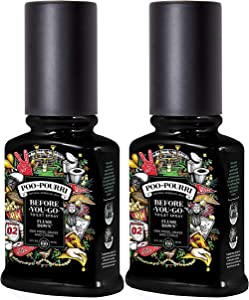 Poo-Pourri Before You Go Toilet Spray Flush Down 2 Ounce, 2 Pack