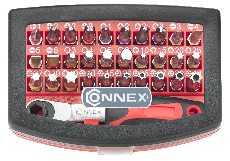 Connex COXB973832 Bitsatz mit Knarre 32-teilig