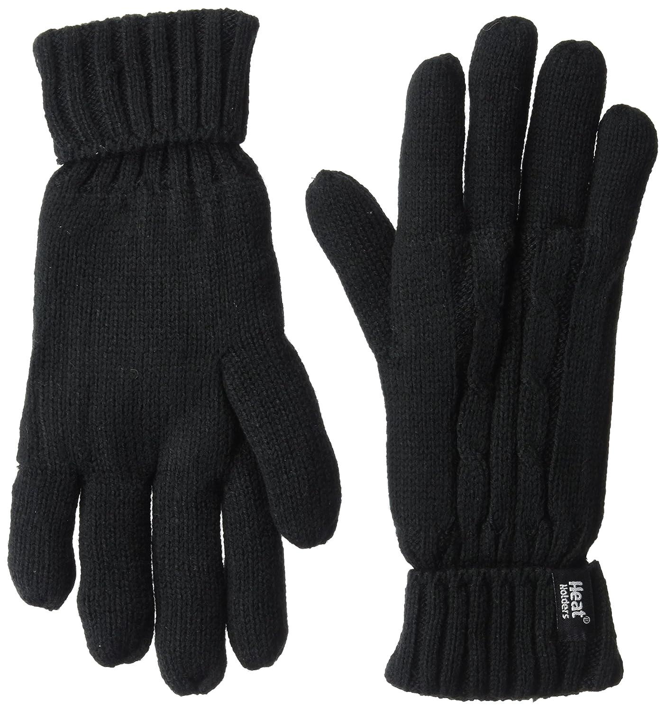 Heat Holders Women's Gloves, Black, Large/X-large LHHG94BLK2