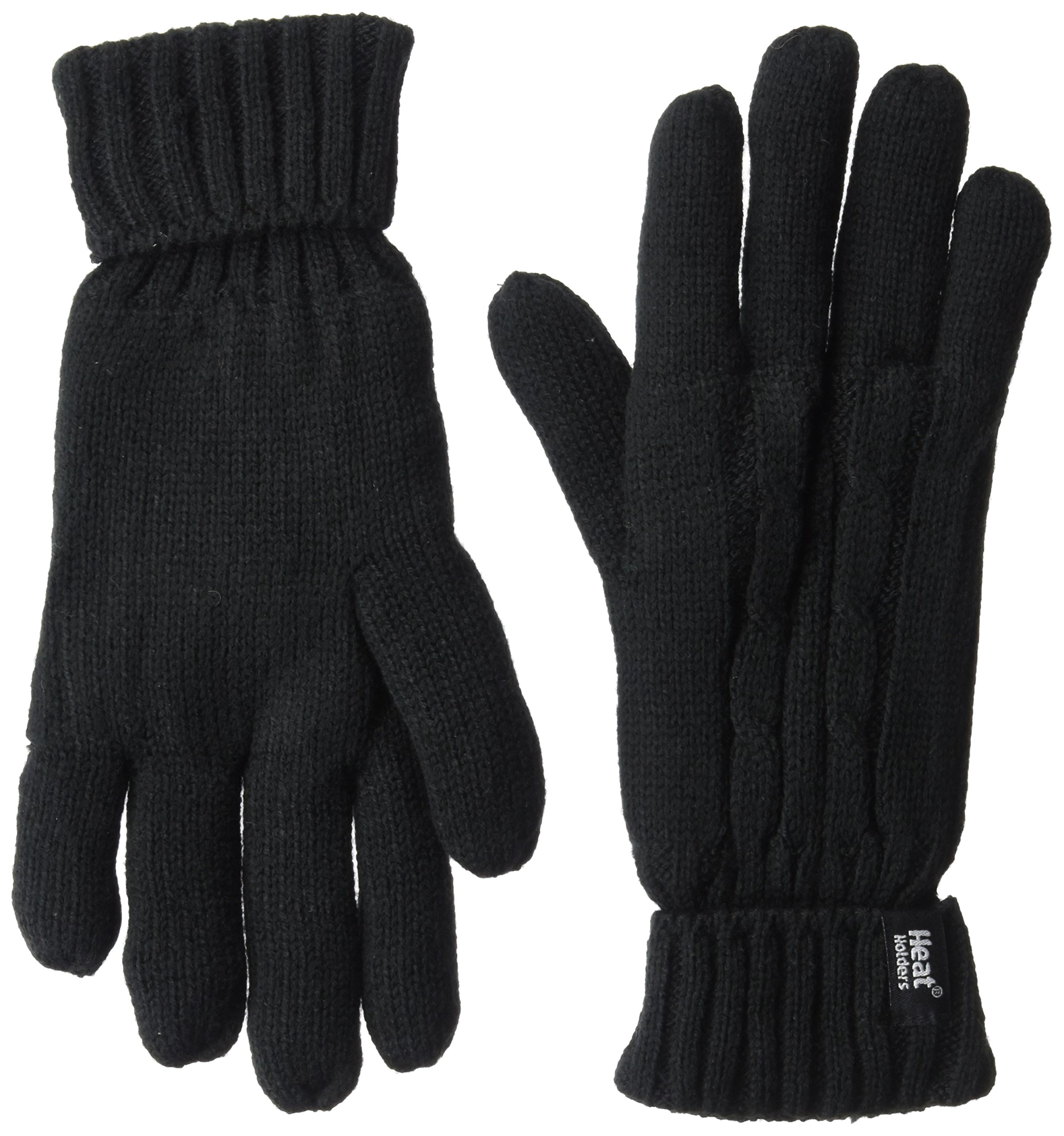 Heat Holders Women's Gloves, Black, Small/Medium