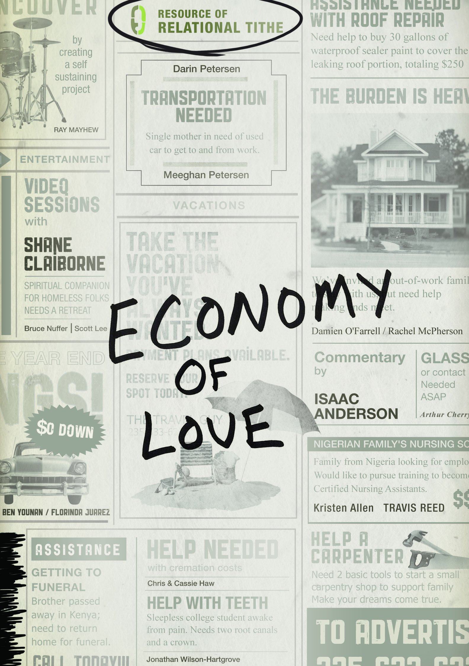Economy of Love: Creating a Community of Enough ePub fb2 ebook